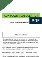 Aux Power Calculation