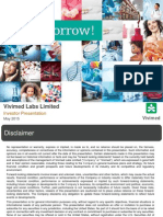 VLL Investor Presentation May 2015