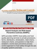 E.coli Sources, testing and control