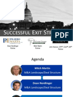 Successful Exit Strategies_with SEIA_ McLean Group_ 12 16 14