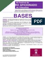 40 Festival de Teatro Aficionado de Villacañas 2015