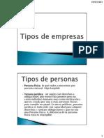 TEMA 2 Tipos de Empresas