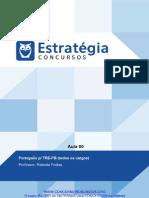 PDF Tribunal Regional Eleitoral Da Paraiba 2015 Portugues p Trepb Todos Os Cargos Aula 00