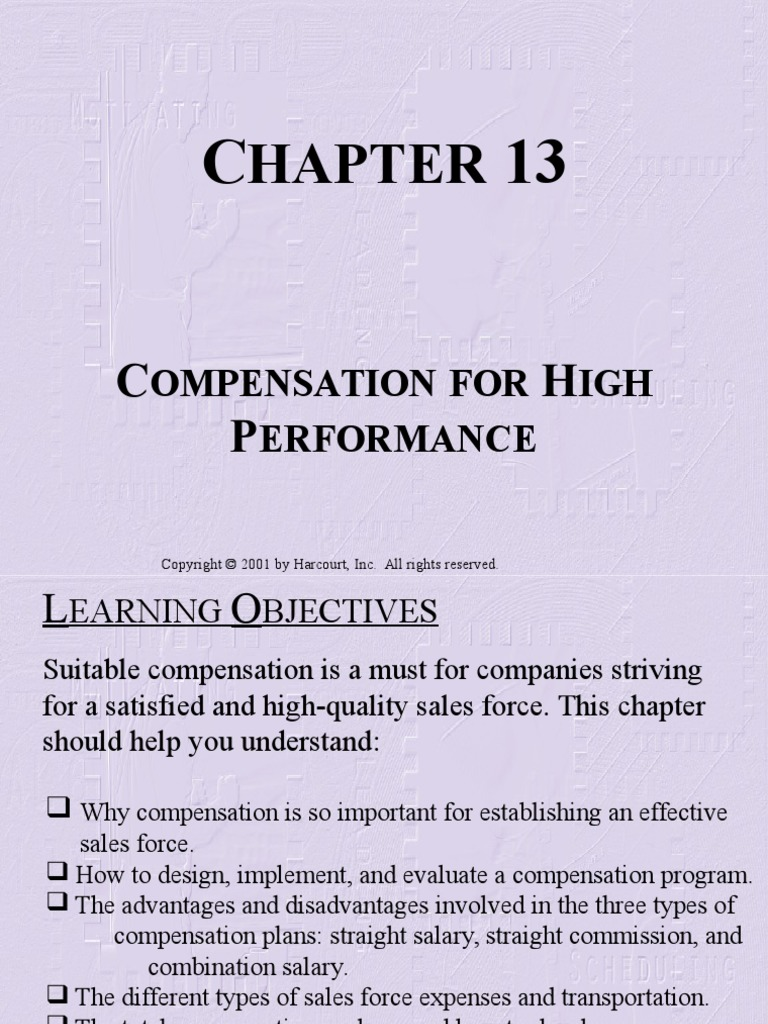 3 types of compensation