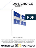 Mainstreet Quebec Riding Polls