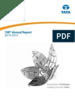 tatasteelAnnual Report 2014 15