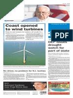 Asbury Park Press front page Thursday, Sept. 24 2015