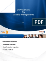 SAP Overview QM