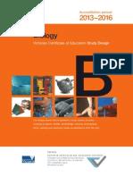 biology study design 2013-2016