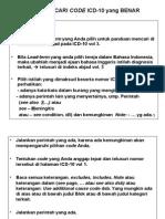 Cari Code ICD