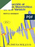 Bartle Sherbert - Introduccion Al Analisis Matematico de Una Variable