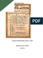 Sejarah Matematika Dalam Islam2