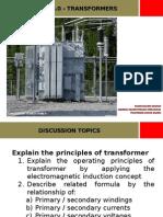 Chapter 5 - Transformer