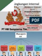 Analisis Internal PT.H.M.Sampoerna untuk Tugas Manajemen Strategik