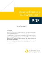 Inductive Reasoning Test1 Questions