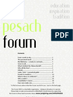 The Pesach Forum