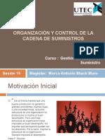 Organización y Control de La Cadena de Suministros