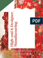 High End & Designer Manufacturing Report 2015