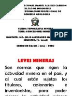 Petitorio Minero - 2014
