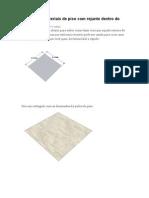 Como Criar Materiais de Piso Com Rejunte Dentro Do SketchUp