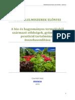 Bioelelmiszerek Elonyei, A Gyumolcsok Peszticid Tartalmanak Osszehasonlitasa-Scribd