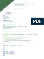 Documentação Triggers,Viewes e Funções