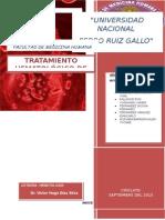 Tratamiento Hematologico de Sosten