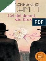 Cei Doi Domni Din Bruxelles Iub - Eric-Emmanuel Schmitt