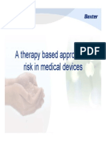 A Therapy Based Approach to Risk in Medical Devices
