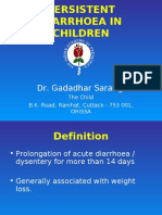 Persistent Diarrhoea & Chronic Diarrhoea