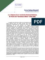 Margaleff, Ferran Gallego - Los Orígenes de La Revolución Nacional Boliviana