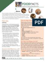 FDA - Food Allergies