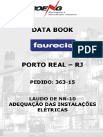 363-15 Data-book Laudo NR-10 Faurecia Porto Real
