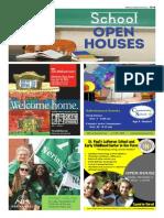 School Open Houses - Fall 2015