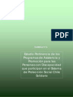 Estudio Pertinencia de Programas de Asistencia PsD