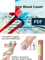 Complete Blood Count PPT