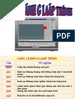 Cac Lenh G Lap Trinh Tien CNC