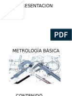 Capacitación de Metrología Básica