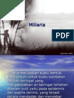 25. Miliaria