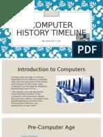 computer history timeline - keren elvir