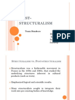 Post structuralism