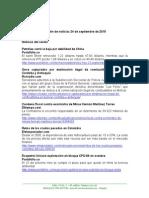 Boletin de Noticias KLR 24SEP15