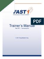 PM 002j FAST1 Trainers Manual