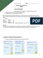 decimal ops study guide