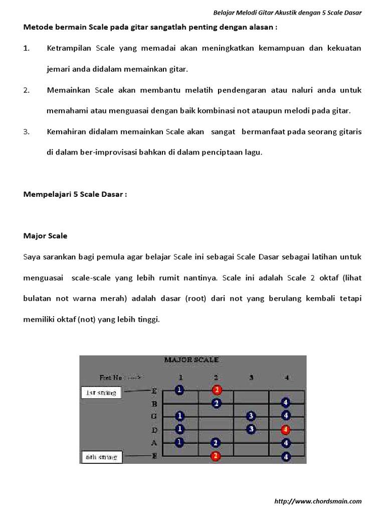 Gitar buku pdf belajar