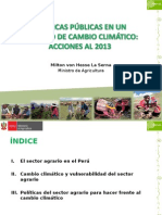 PP en Entorno de Cambio Climatico_ Sector Agrario 13.12.2012