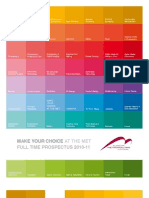 Glasgow Met Full Time Prospectus 2010-2011