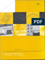 Maquetas - La representación del espacio en el proyecto arquitectónico