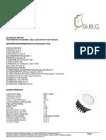 Reporte Fotometrico Bala LED CETUS RA OP 10W