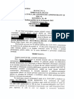 Hotararea  nr 40 din 16. 01.2015 din dosarul 1730_114_2014